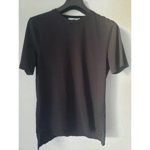 Vince black cotton t-shirt for men in small